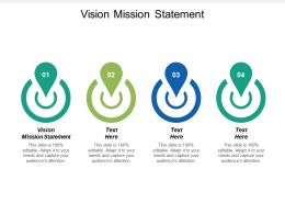 Vision Mission Statement Ppt Powerpoint Presentation Ideas Slides Cpb