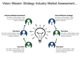Vision Mission Strategy Industry Market Assessment Strategic Plan