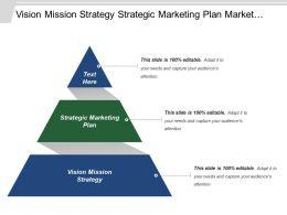 Vision Mission Strategy Strategic Marketing Plan Market Intelligence