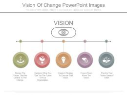 22695480 Style Essentials 1 Our Vision 5 Piece Powerpoint Presentation Diagram Infographic Slide