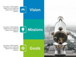 Vision Ppt Slides Elements