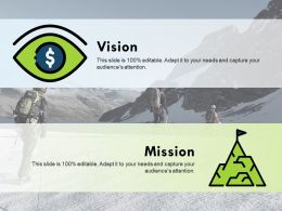 Vision Ppt Visual Aids Backgrounds