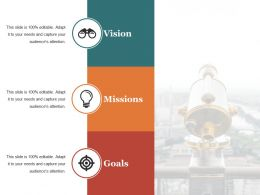 Vision Presentation Layouts