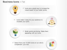 Vision Savings Growth Solution Ppt Icons Graphics