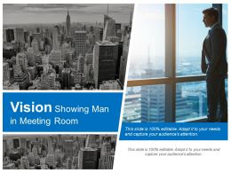 Vision Showing Man In Meeting Room