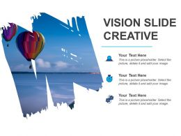Vision Slide Creative Powerpoint Layout