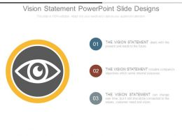 Vision Statement Powerpoint Slide Designs