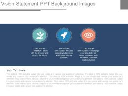 Vision Statement Ppt Background Images