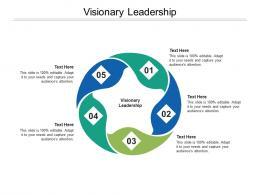Visionary Leadership Ppt Powerpoint Presentation Slides Vector Cpb