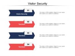 Visitor Security Ppt Powerpoint Presentation Pictures Deck Cpb