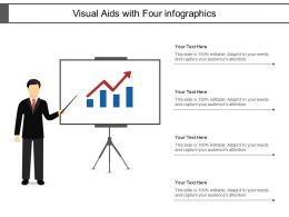 Visual Aids With Four Info Graphics