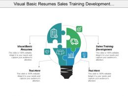 Visual Basic Resumes Sales Training Development Professional Resume Cpb
