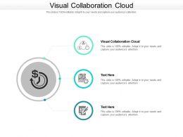 Visual Collaboration Cloud Ppt Powerpoint Presentation Inspiration Graphics Tutorials Cpb