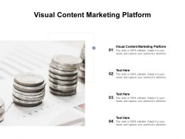 Visual Content Marketing Platform Ppt Powerpoint Presentation Styles Example Cpb