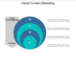 Visual Content Marketing Ppt Powerpoint Presentation Layouts Cpb