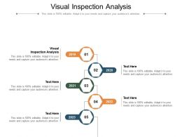 Visual Inspection Analysis Ppt Powerpoint Presentation Layouts Portfolio Cpb