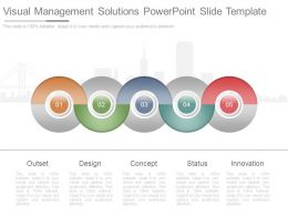 Visual Management Solutions Powerpoint Slide Template