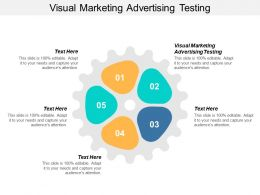 Visual Marketing Advertising Testing Ppt Powerpoint Presentation Inspiration Topics Cpb