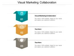 Visual Marketing Collaboration Ppt Powerpoint Presentation Model Information Cpb