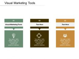 Visual Marketing Tools Ppt Powerpoint Presentation Infographic Template Slides Cpb