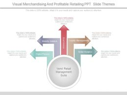 Visual Merchandising And Profitable Retailing Ppt Slide Themes