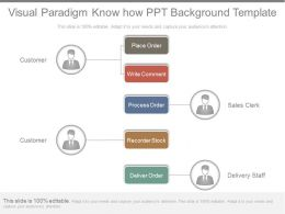Visual Paradigm Know How Ppt Background Template