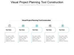 Visual Project Planning Tool Construction Ppt Infographics Clipart Images Cpb