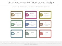 Visual Resources Ppt Background Designs