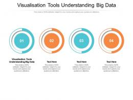Visualisation Tools Understanding Big Data Ppt Powerpoint Presentation Pictures Infographics Cpb