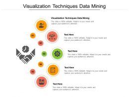 Visualization Techniques Data Mining Ppt Powerpoint Presentation Show Design Ideas Cpb