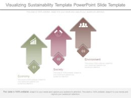 Visualizing Sustainability Template Powerpoint Slide Template
