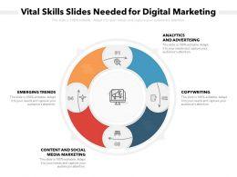 Vital Skills Slides Needed For Digital Marketing