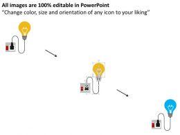 22897870 Style Circular Zig-Zag 2 Piece Powerpoint Presentation Diagram Infographic Slide