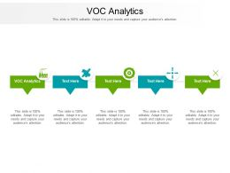 Voc Analytics Ppt Powerpoint Presentation Infographic Template Graphic Tips Cpb