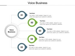 Voice Business Ppt Powerpoint Presentation Pictures Designs Download Cpb