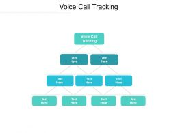 Voice Call Tracking Ppt Powerpoint Presentation Infographic Template Background Images Cpb