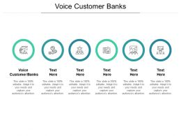 Voice Customer Banks Ppt Powerpoint Presentation Inspiration Deck Cpb