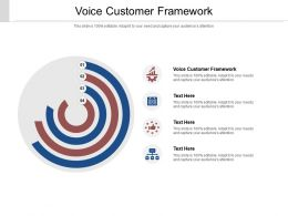 Voice Customer Framework Ppt Powerpoint Presentation Layouts Graphics Download Cpb