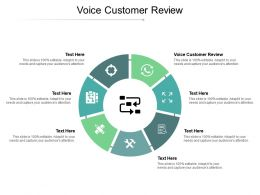 Voice Customer Review Ppt Powerpoint Presentation File Graphics Design Cpb