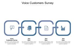Voice Customers Survey Ppt Powerpoint Presentation File Clipart Cpb