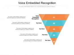 Voice Embedded Recognition Ppt Powerpoint Presentation Inspiration Display Cpb