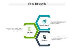 Voice Employee Ppt Powerpoint Presentation Infographic Template Background Designs Cpb