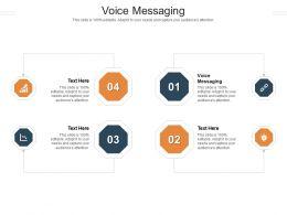 Voice Messaging Ppt Powerpoint Presentation File Portrait Cpb