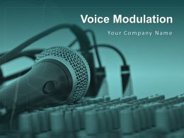 Voice Modulation Communication Effective Variation Icon Intonation