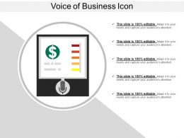 Voice Of Business Icon