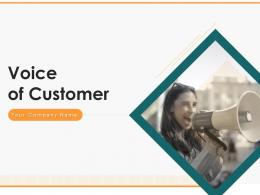 Voice Of Customer Process Customer Implementation Research Plan