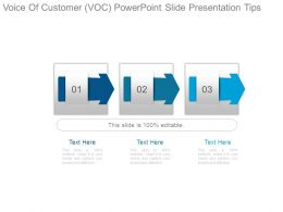 Voice Of Customer Voc Powerpoint Slide Presentation Tips