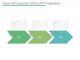 Voice Of Customer Voc Ppt Inspiration