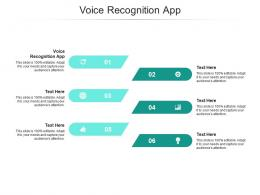 Voice Recognition App Ppt Powerpoint Presentation Summary Slides Cpb