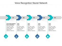 Voice Recognition Neural Network Ppt Powerpoint Presentation Slides Topics Cpb